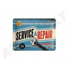 Retro cedule Service and Repair 15x20 cm